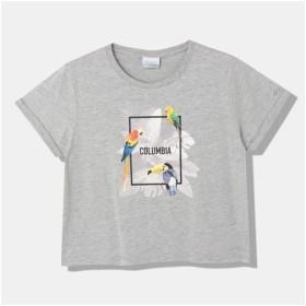 コロンビア columbia レディース 半袖 Tシャツ アウトドアウェア デイジーフォレストウィメンズショートスリーブTシャツ PL3119 039 Columbia Grey 【2019SS】