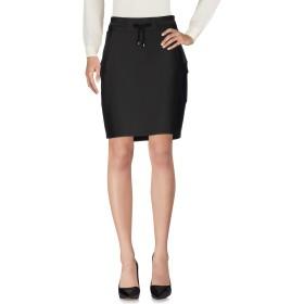 《期間限定 セール開催中》MARGITTES レディース ひざ丈スカート ブラック 42 ナイロン 90% / ポリウレタン 10%