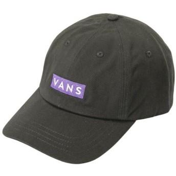 【VANSウェア】AP EASY BOX CAP ヴァンズ キャップ VN0A3TXUBLK BLACK