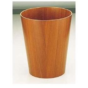 SAITO WOOD/サイトーウッド  木製ルーム用ゴミ入れ(チークグレイン)/901小