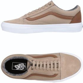 《セール開催中》VANS メンズ スニーカー&テニスシューズ(ローカット) サンド 7 革 / 紡績繊維