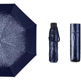 折り畳み傘 晴雨兼用 日傘 UVカット 遮光 紫外線防止 軽量 250g 手動開閉 遮熱 耐風 超吸水カバー付き コンパクト 280T高強度グラスファイバー Teflon撥水 防水防光のNC布 メンズ
