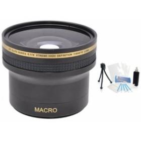 UltraPro 49mm Digital Pro 0.17XスーパーワイドHD魚眼レンズレンズの選 (新品未使用の新古品)