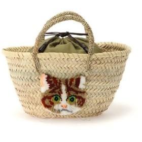 CAT IN DA HOUSE ! / CAT IN DA HOUSE!(キャットインダハウス)スコティッシュストレートかごバッグ