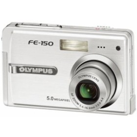 OLYMPUS デジタルカメラ CAMEDIA FE-150(中古良品)
