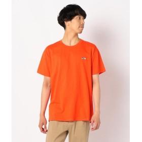 【21%OFF】 フレディアンドグロスター スヌーピーワンポイント刺しゅうTシャツ メンズ オレンジ L 【FREDY & GLOSTER】 【セール開催中】