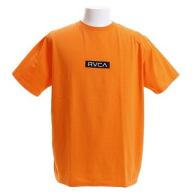 RVCA PATCH RVCA 半袖Tシャツ AJ041231 ORG (Men's)