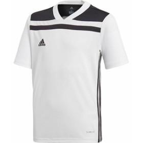 アディダス(adidas) ジュニア サッカー KIDS REGISTA 18 トレーニングジャージー ホワイト/ブラック EDM96 CE8962 【ウェア プラクティ