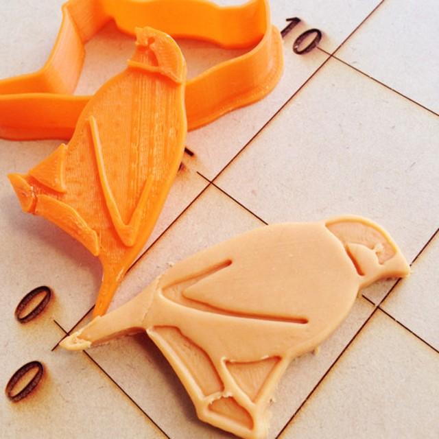 文鳥 クッキーカッター・クッキー型