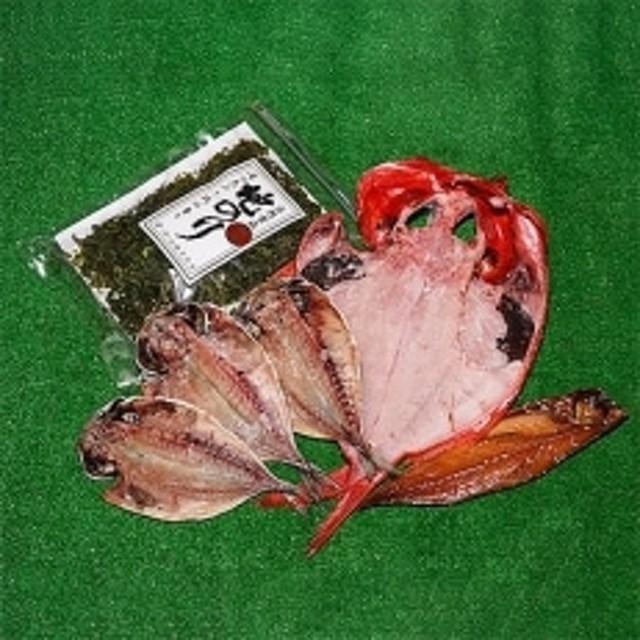 山鶴魚問屋ひものFセット(3種類・地のり)