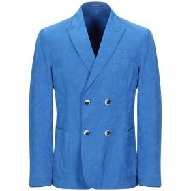 《期間限定セール開催中!》RODA メンズ テーラードジャケット ブライトブルー 46 コットン 97% / ポリウレタン 3%