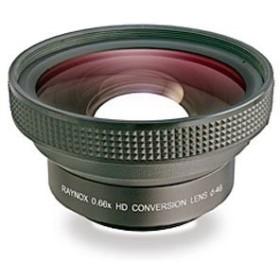 レイノックス HD-6600PRO58 0.66X高品質ワイド(広角)レンズ吉田産業HD-660(中古良品)