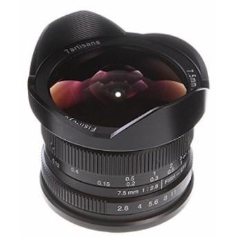 7職人7.5MM F/2.8手動フォーカスワイド角度魚眼レンズレンズMF for Fujifi(中古良品)