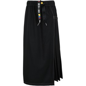 《期間限定 セール開催中》REEBOK x PYER MOSS レディース ロングスカート ブラック XXS ポリエステル 100% RCxPM RING SKIRT
