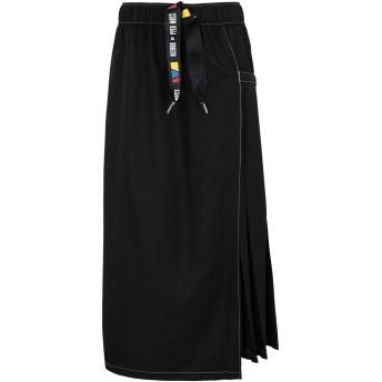《期間限定セール開催中!》REEBOK x PYER MOSS レディース ロングスカート ブラック XXS ポリエステル 100% RCxPM RING SKIRT