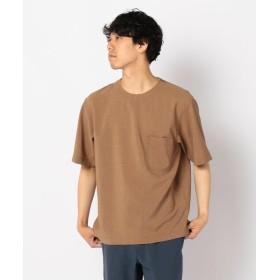 【20%OFF】 フレディアンドグロスター ドライクロスTシャツ メンズ キャメル L 【FREDY & GLOSTER】 【セール開催中】