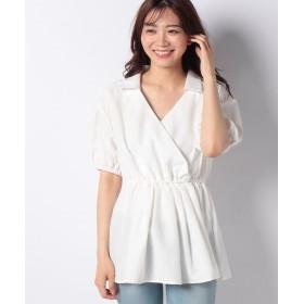 ウィゴー カシュクールチュニックシャツ レディース ホワイト F 【WEGO】