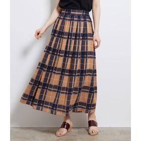 ロングスカート - ROPE' PICNIC ビッグチェックロングスカート
