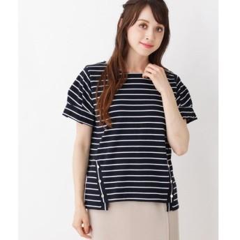 grove / グローブ 袖タック裾釦付きプルオーバー
