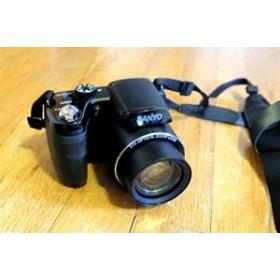 Sanyo vpc-e2100bk 14MPデジタルカメラ、14MP、21xズーム(25mmワイド) (新品未使用の新古品)