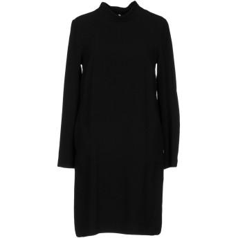 《セール開催中》OTTOD'AME レディース ミニワンピース&ドレス ブラック 40 94% ポリエステル 6% ポリウレタン