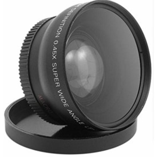 ワイドマクロ角度レンズ52mm 0.45X for hdv-c2ビデオカメラ1080pデジタル(新品未使用の新古品)