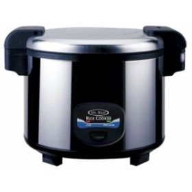 Sunpentown sc-5400s 35-cup stainless-steel heavy-duty Rice Cooker by S(中古良品)
