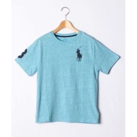 (IMPORT SELECTION/インポートセレクション)【POLO RALPH LAUREN】ボーイズサイズ BIG PONY Tシャツ/レディース BLUE