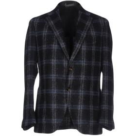 《期間限定セール開催中!》ELEVENTY メンズ テーラードジャケット ダークブルー 46 毛(アルパカ) 80% / ナイロン 20%