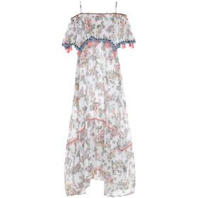 《セール開催中》ANJUNA レディース ロングワンピース&ドレス ホワイト M コットン 100%
