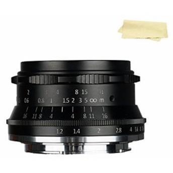 7職人35mm f1.2Large絞りPrime aps-cマニュアルフォーカスレンズ広くfor (中古良品)