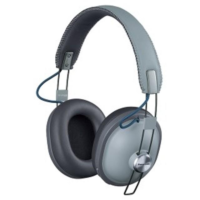 Bluetooth ワイヤレス ヘッドホン Panasonic パナソニック RP-HTX80B-H クールグレー