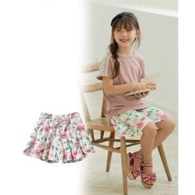 スカート見えが可愛い♪カットソーキュロット(女の子 子供服) キュロット・パンツインスカート・スカート