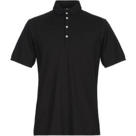 《期間限定セール開催中!》HYDROGEN メンズ ポロシャツ ブラック M コットン 100%
