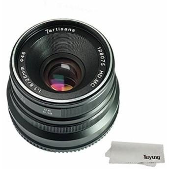 7職人25mm f1.8マニュアルフォーカスレンズfor Sony EMOUNTカメラLike a7(中古良品)