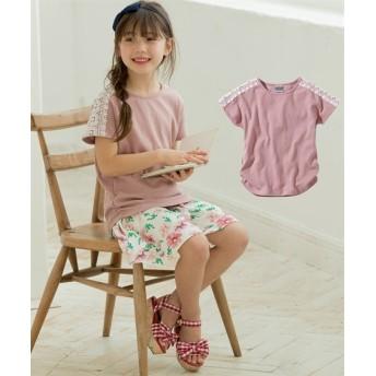 選べる3タイプ♪半袖トップス(女の子 子供服。ジュニア服) Tシャツ・カットソー