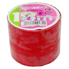 ohm ビニールテープ幅5cm×長さ10m赤/DE5010R 赤