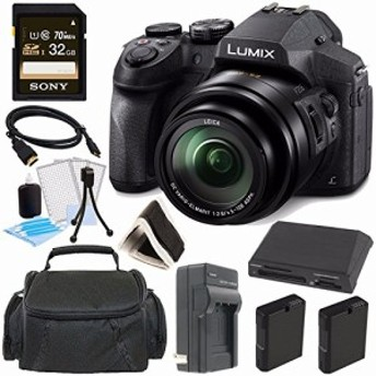 Panasonic Lumix DMC - fz300デジタルカメラ+ 32GBグリーンのカメラバンド(新品未使用の新古品)