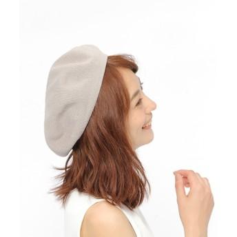 (LAKOLE/ラコレ)コットンサーモベレー帽/ [.st](ドットエスティ)公式