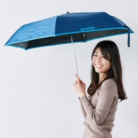 SELECT OUTDOOR PRODUCTS 軽量ミニ折り傘〈ネイビー〉 IEDIT[イディット] フェリシモ FELISSIMO【送料:450円+税】