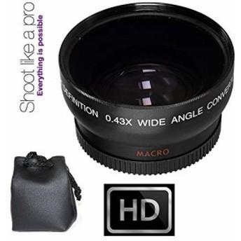 Wide Angle Lens for Canon VIXIA hf10hf11hf20hf100hf200(中古良品)