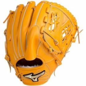 ミズノ(MIZUNO) 野球 グローブ 軟式用 グローバルエリート Hselection02 投手用 サイズ11 54/オレンジ 1AJGR18301 【ピッチャーミット