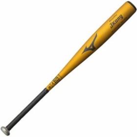 ミズノ(MIZUNO) グローバルエリート Jコング 少年軟式用バット 金属製 80cm 平均580g ゴールド 1CJMY13180 【野球 少年野球 軟式 金属