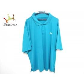 アンダーアーマー UNDER ARMOUR 半袖ポロシャツ サイズXXL XL メンズ グリーン   スペシャル特価 20190814