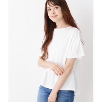 SHOO・LA・RUE / シューラルー 【汗染み防止】お袖フリルTシャツ