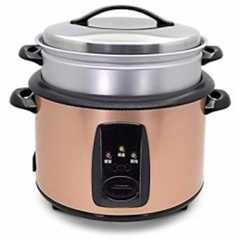 電気炊飯器6.5 l リットル 6-8 人ホーム ミニ昔ながら伝統的なノンスティッ(新品未使用の新古品)