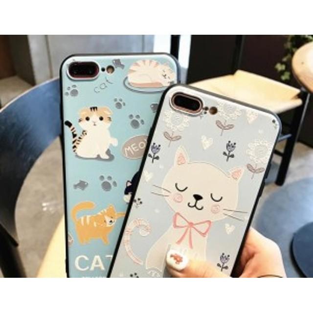 abfb014b8b iphoneケース 6 7 8 plus X 日本 韓国 小さな 漫画 かわいい カップル シリコーン オールインクルーシブ