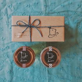 贈り物に はちみつ& ハニーナッツのギフト(BOX有り)
