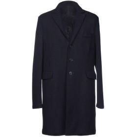 《期間限定 セール開催中》HARRIS WHARF LONDON メンズ コート ブルー 52 100% バージンウール