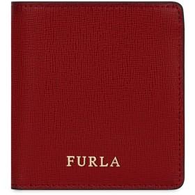 《セール開催中》FURLA レディース 財布 ボルドー 革 100% BABYLON SMALL BI-FOLD